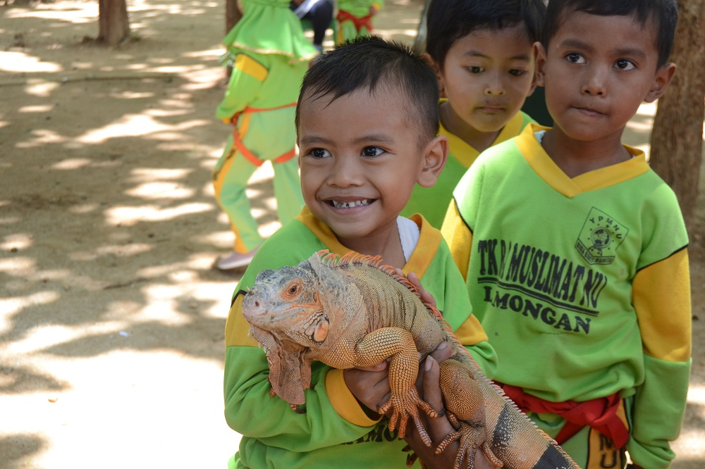 Outbound Edukasi Reptile di Tuban